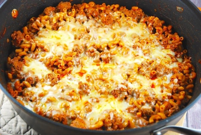 Macaroni And Cheese With Ground Beef Calories
